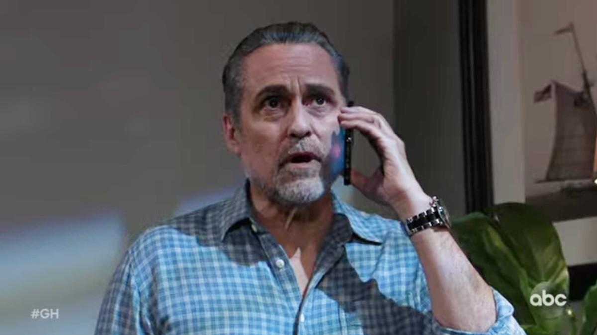 Maurice Benard as Mike on General Hospital.