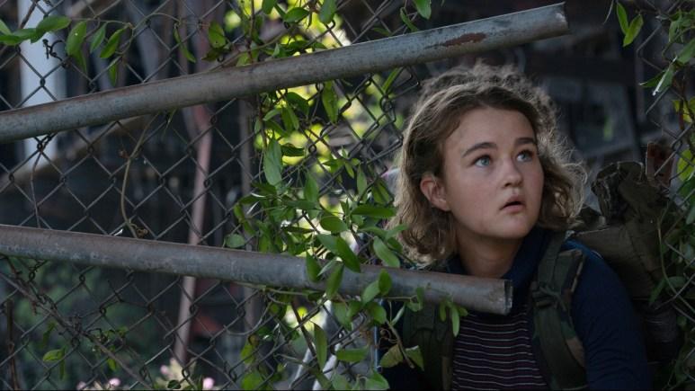 Millicent Simmonds as Regan in A Quiet Place Part II.