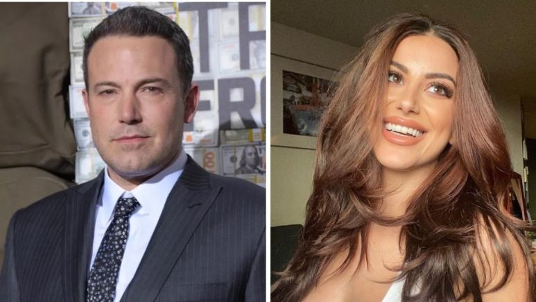 Image of Nivine Jay and Ben Affleck.