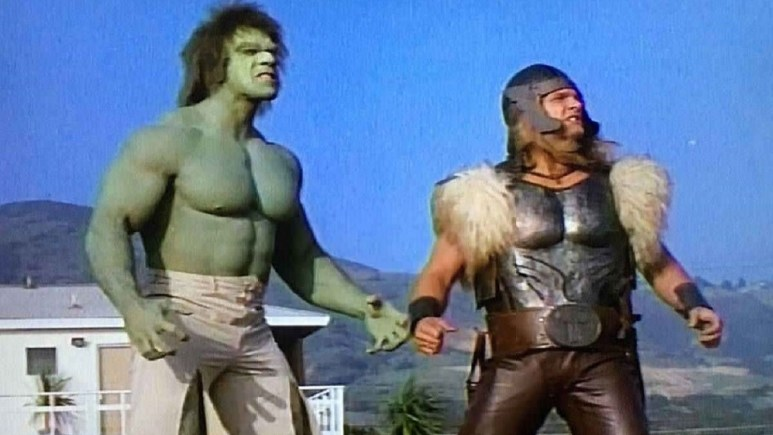 The Incredible Hulk Returns