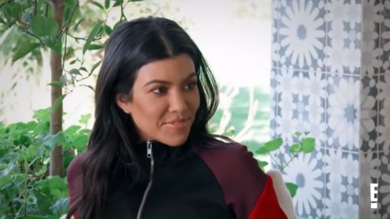 Kourtney Kardashian on KUWTK