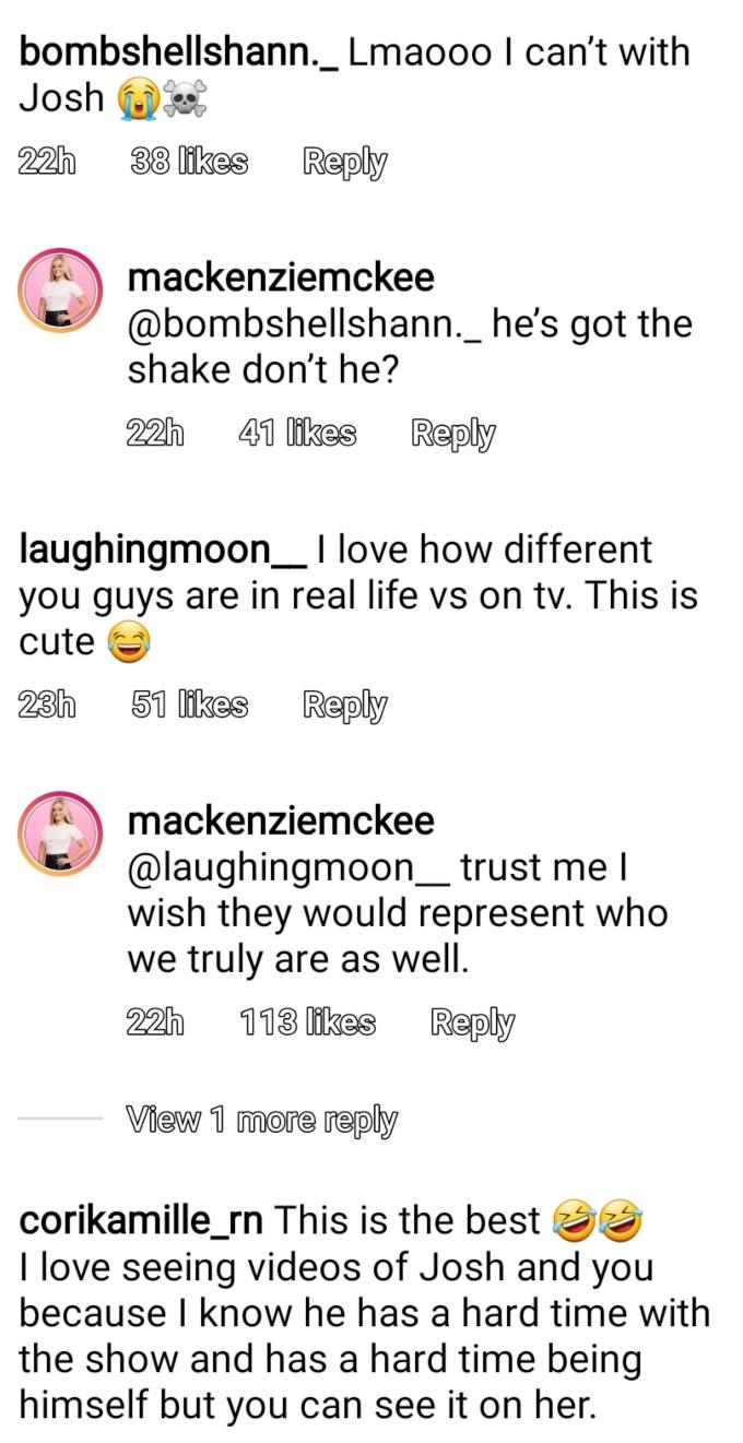 Mackenzie McKee of Teen Mom OG on Instagram