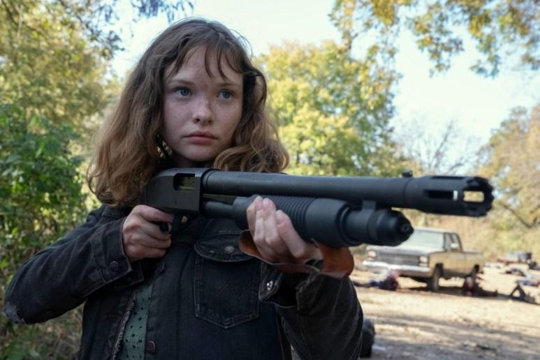 Zoe Colletti as Dakota on Fear the Walking Dead