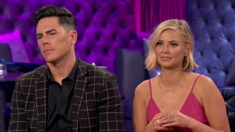 Vanderpump Rules stars Ariana Madix and Tom Sandoval.
