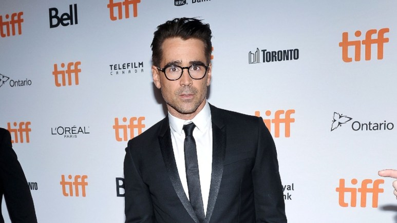 Colin Farrell on the red carpet