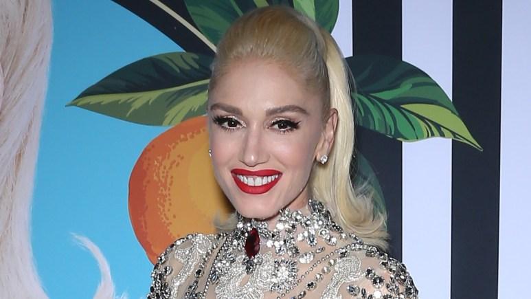 Gwen Stefani on the red carpet