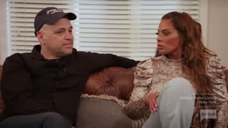 RHONJ star Dolores Catania says David Principe does not take it well when the cast talk about him