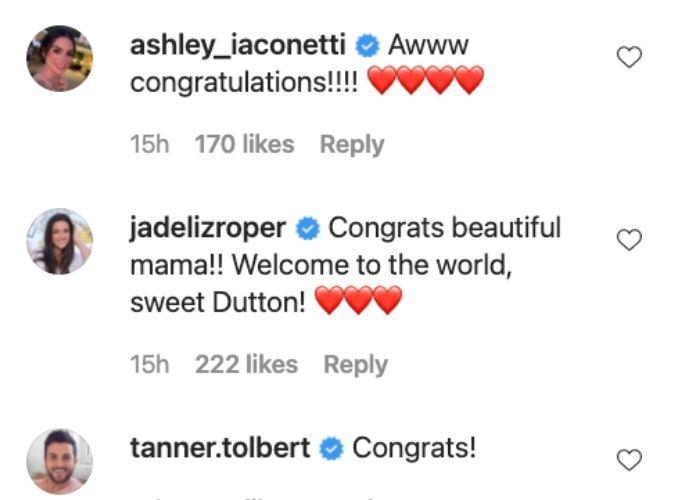 Bachelor Nation congratulates Lauren and Chris.