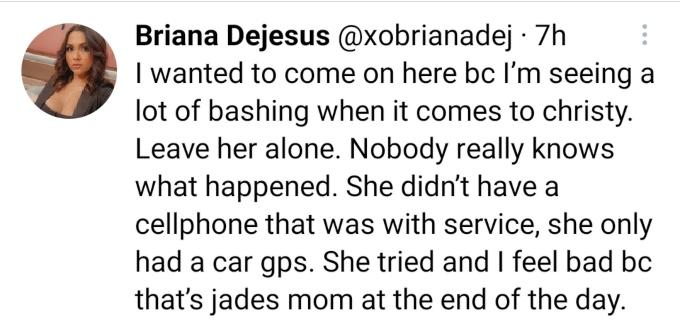 Briana DeJesus of Teen Mom 2 on Twitter