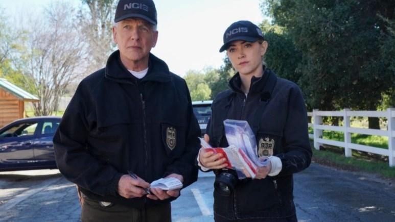 Bishop And Gibbs Leave NCIS