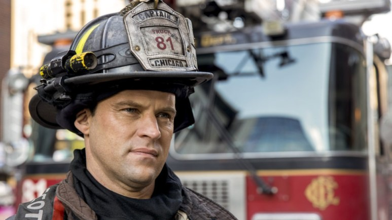 Captain Casey On Chicago Fire