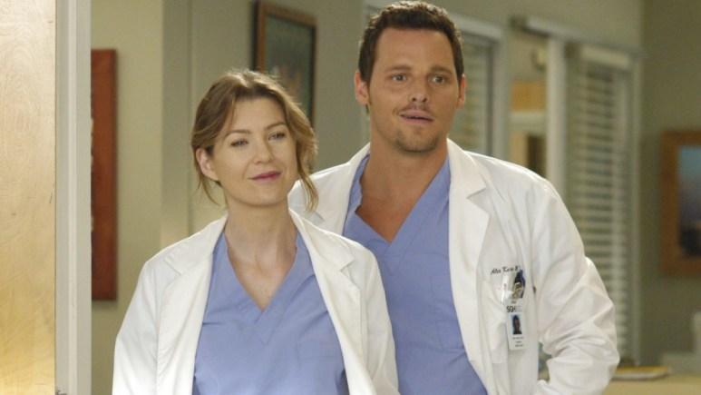 Grey And Karev On Grey's Anatomy