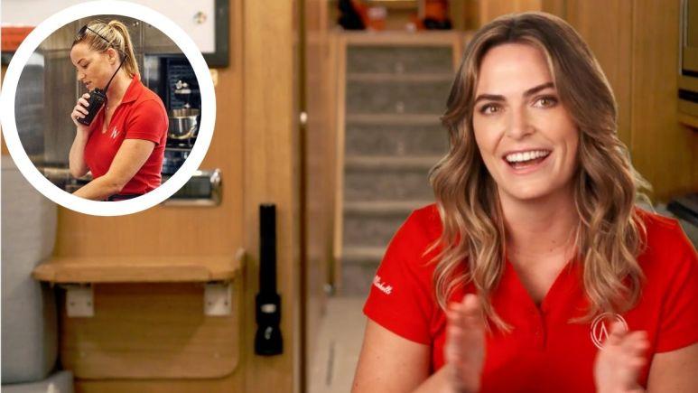 Below Deck Mediterranean star Katie Flood talks taking over for Hannah Ferrier on Bravo show.