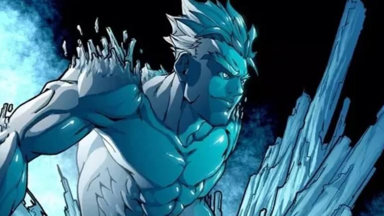 Iceman in X-Men Marvel Comics