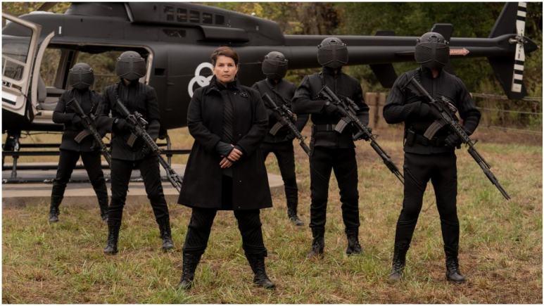 Julia Ormond stars as Elizabeth, as seen in Season 1 of AMC's The Walking Dead: World Beyond