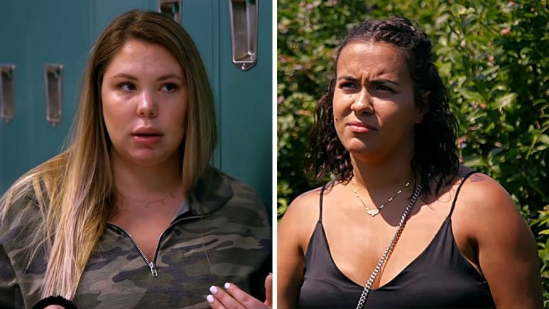 Kail Lowry and Briana DeJesus of Teen Mom 2