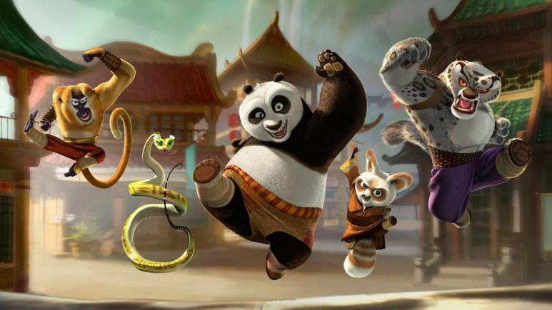 Kung Fu Panda is on Netflix
