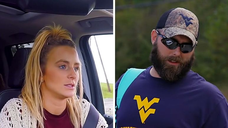 Leah Messer and Corey Simms of Teen Mom 2