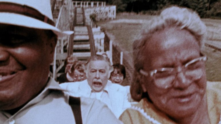 Lincoln Maazel on rollercoaster from The Amusement Park.