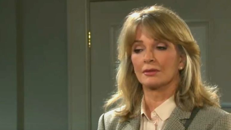 Days of our Lives spoilers reveal Marlena is suspicious of Sami and Lucas.