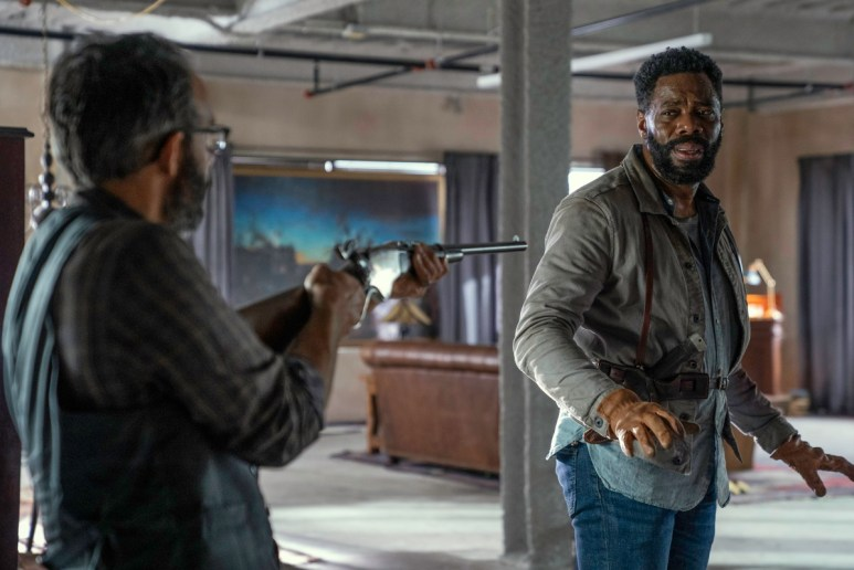 Omid Abtahi as Howard and Colman Domingo as Victor Strand, as seen in Episode 16 of AMC's Fear the Walking Dead Season 6