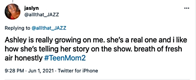 Teen Mom 2 fans are warming up to Ashley Jones