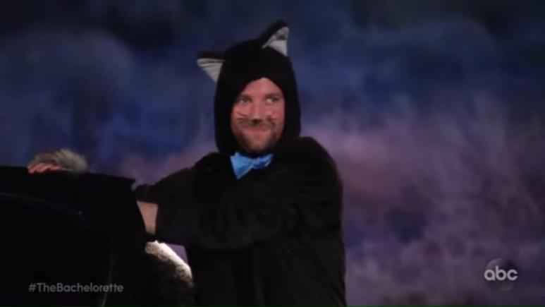 "Connor Brennan a.k.a. ""cat man"" on The Bachelorette"