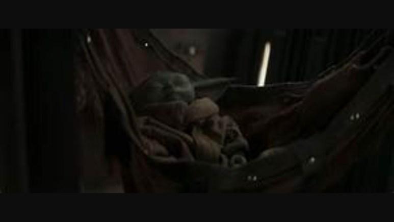 Sleeping Baby Yoda
