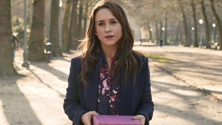 Lacey Chabert in Love, Romance and Chocolate on the Hallmark Channel.