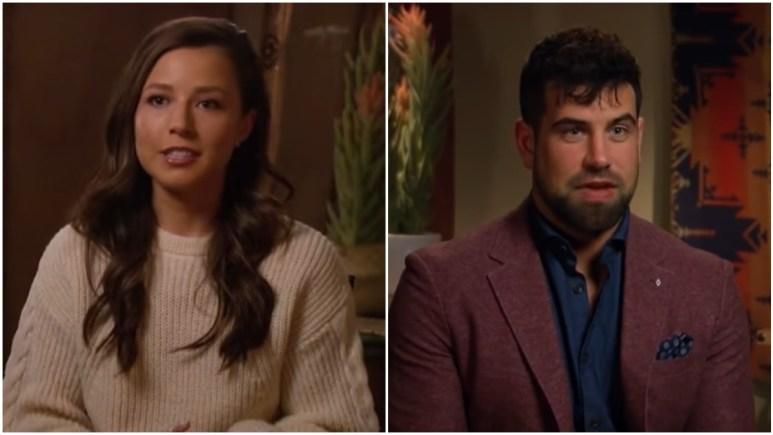 Katie Thurston and Blake Moynes on The Bachelorette
