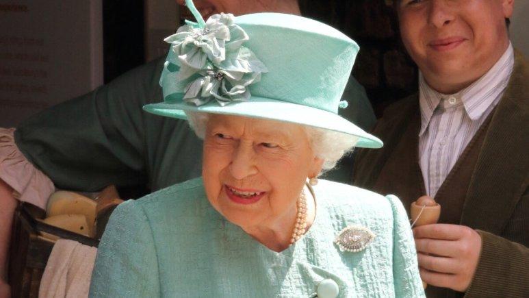 Queen Elizabeth at a royal event