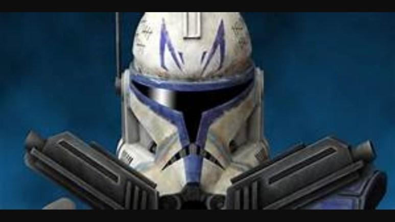 Captain Rex's iconic helmet.
