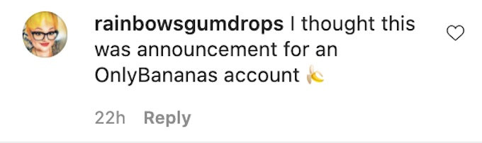 the challenge fan jokes about bananas joining of