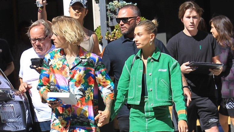 Hailey and Justin Bieber