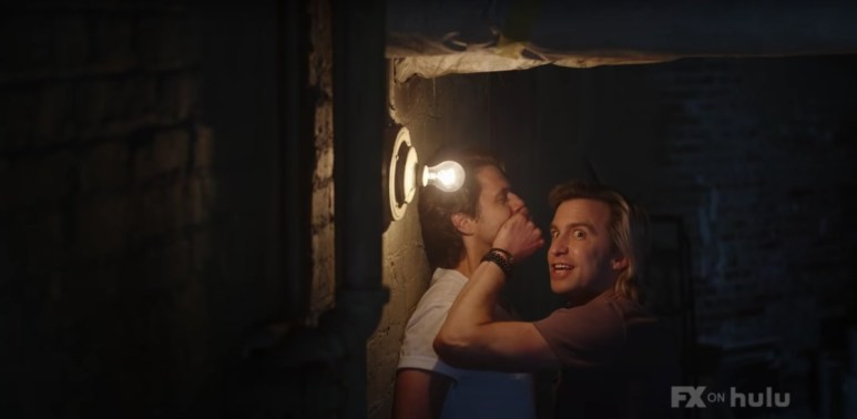 Aaron Tveit as Adam and Gavin Creel as Troy, as seen in Episode 2 of FX's American Horror Stories