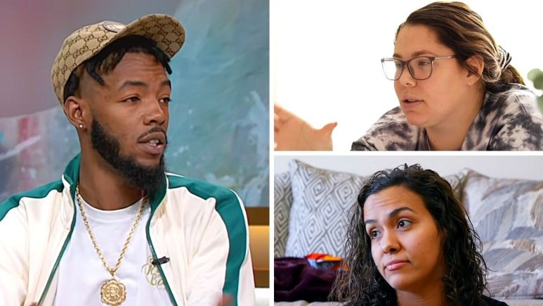 Devoin Austin, Kail Lowry and Briana DeJesus of Teen Mom 2