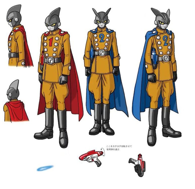 Dragon Ball Super Super Hero Characters