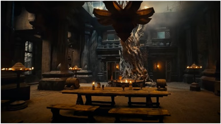 The Great Hall, as featured in Season 2 of Netflix's The Witcher