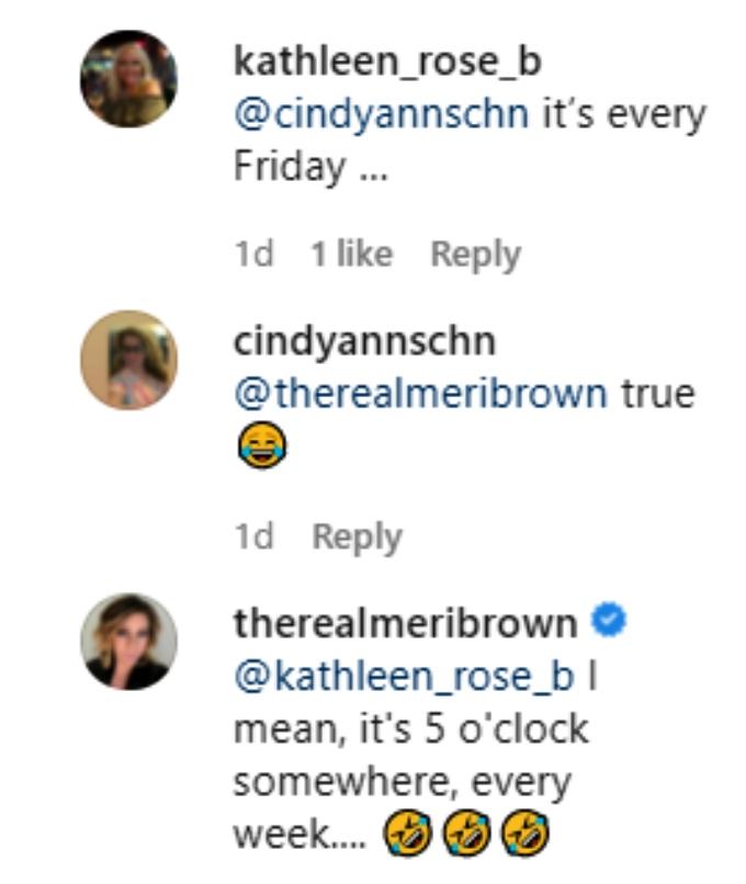 meri brown of sister wives on instagram