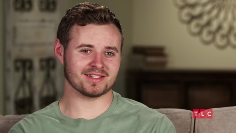 Jedidiah Duggar in a a Counting On confessional.
