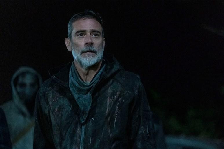 Jeffrey Dean Morgan stars as Negan, as seen in Season 11 of AMC's The Walking Dead