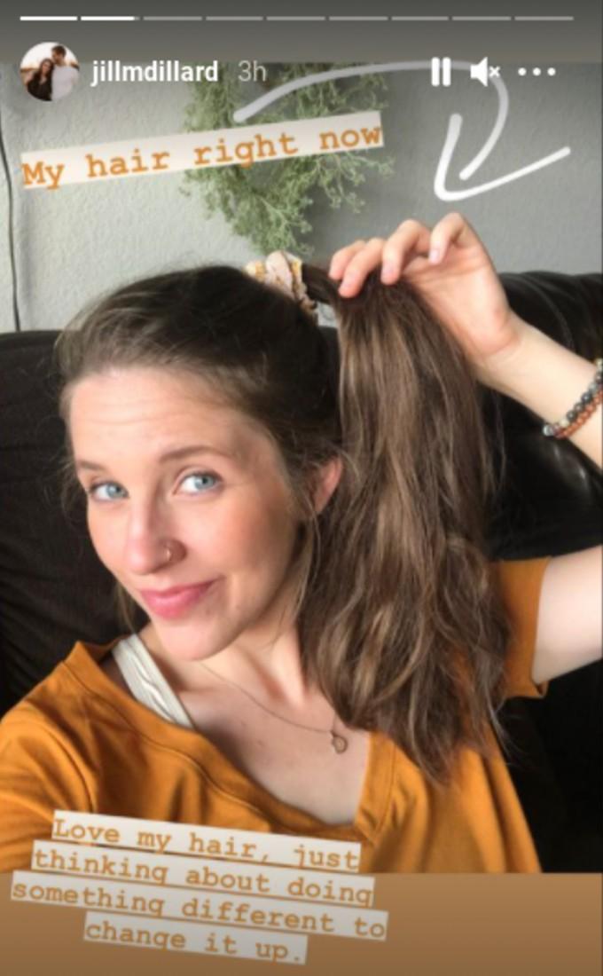 Jill Duggar's hair.