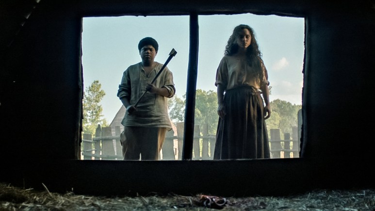 Kiana Madeira and Benjamin Flores Jr. from Fear Street Part 3: 1666