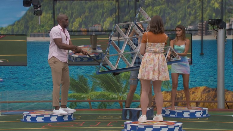 The Kings During HOH Comp