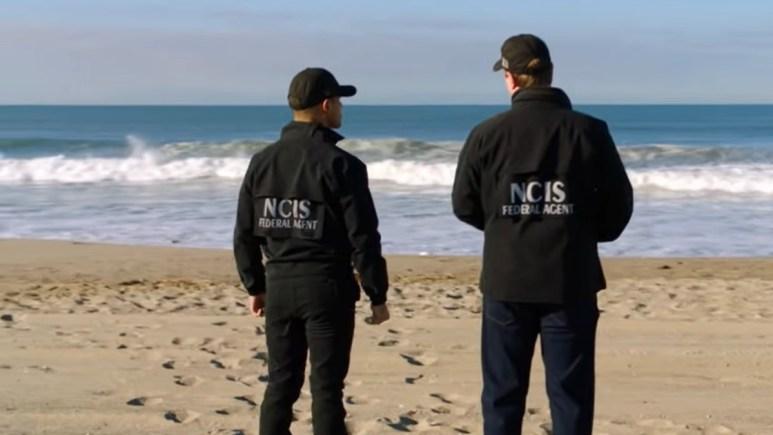 NCIS On Beach