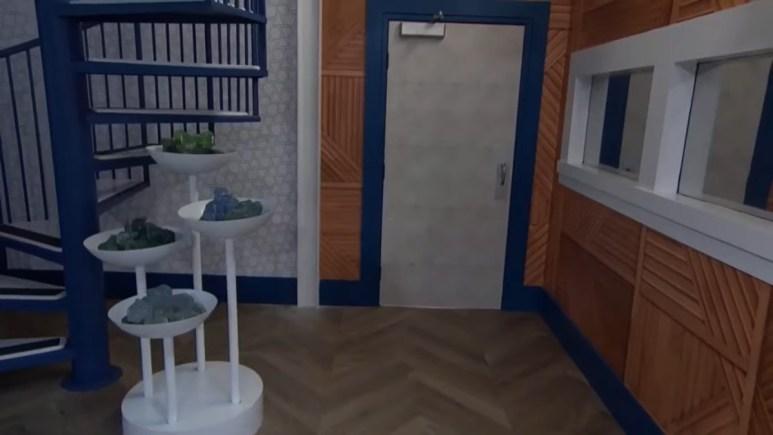 New BB Bathroom Door