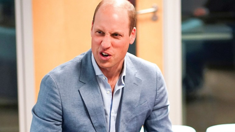 Prince William attends a royal event