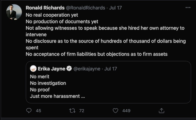 Ronald Richards Tom Girardi's attorney