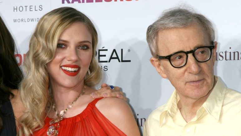 Image of Scarlett Johansson and Woody Allen