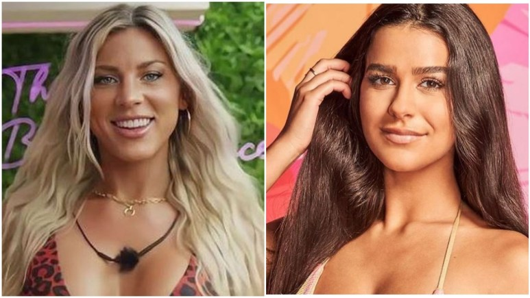 Shannon St Clair and Genevieve Shawcross on Love Island USA